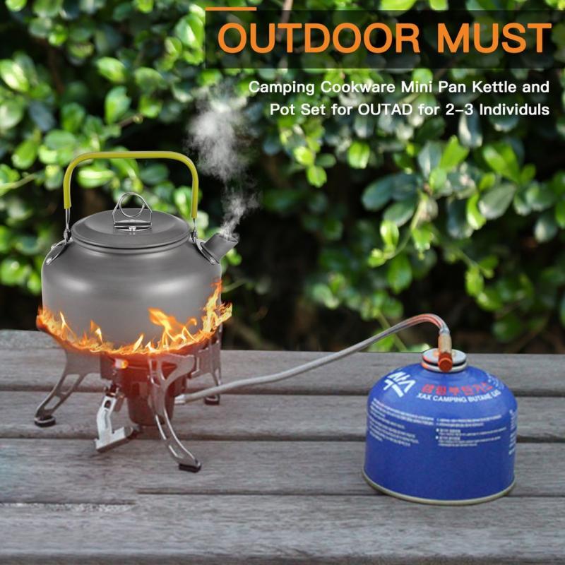 Easy Camp Adventure Camping Cook SetLARGECamping Cook Pots /& Kettle