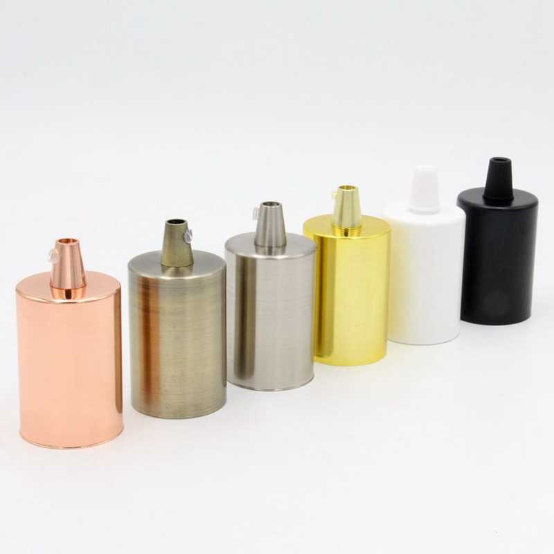 2 조각 10 조각 e27 금속 램프 홀더 펜 던 트 조명 피팅에 대 한 스레드 전구 라이트베이스