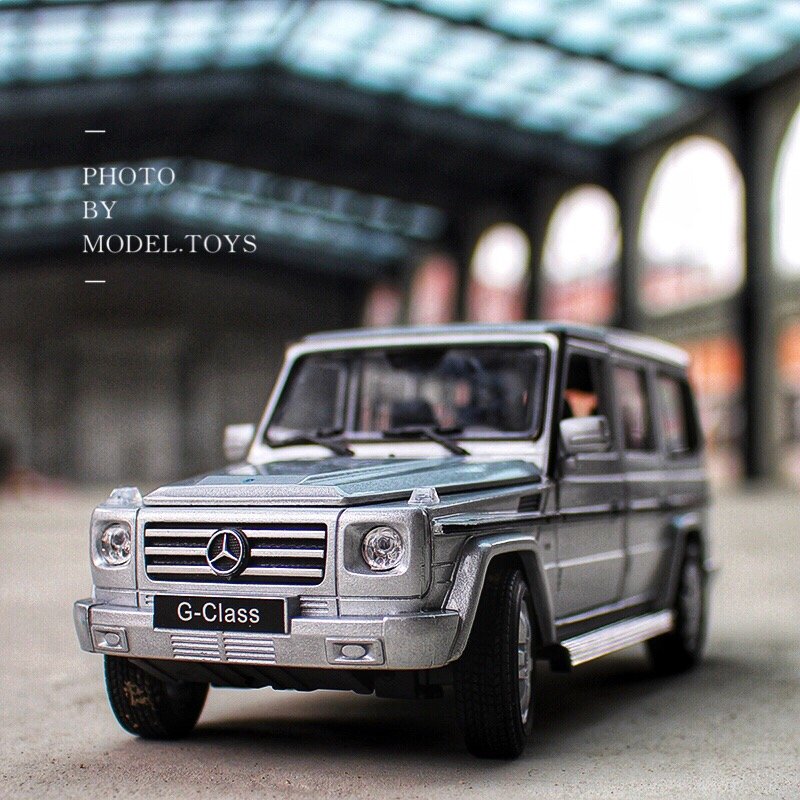 WELLY 1:24  Mercedes-Benz G-Class SUV Car Simulation Alloy Car Model Crafts Decoration Collection Toy Tools Gift