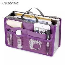 Tote Large Capacity Cosmetic Bag Thicken Travel Accessories Nylon Travel Insert Organizer Handbag Purse Makeup Bag For Women