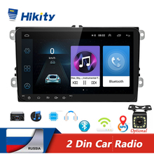 Multimedia-Player Autoradio Android Stereo Hikity 2-Din GPS Polo/seat 9''
