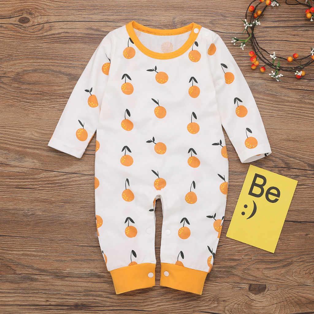 Mới sinh ra quần áo bé trai Romper áo liền quần áo mùa đông bộ trang phục áo liền quần onesie disfraz Bebe Halloween Hoạt Hình 0-24 M tay dài Z4
