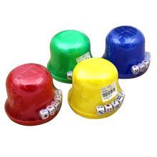 1 набор случайных кубиков стаканчик прочный встряхивание коробка с кубиками с крышкой лотка для питья казино(случайный цвет
