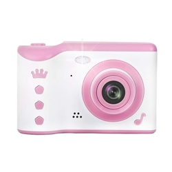 ABHU-Childrens Camera Mini Cartoon SLR Sports Digital Camera Dual Lens Rechargeable Childrens Camera Without Memory Card