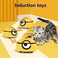 Spielzeug Katze Hund Automatische Spaziergang Interaktive Spielzeug Intelligente Flucht Für Kinder Haustiere Infrarot Sensor Kaninchen Pet Puppy Geschenke
