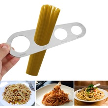 1Pcs Stainless Steel 4 Holes Spaghetti Measurer Pasta Noodle Measure Home Portions Controller Kitchen Accessories