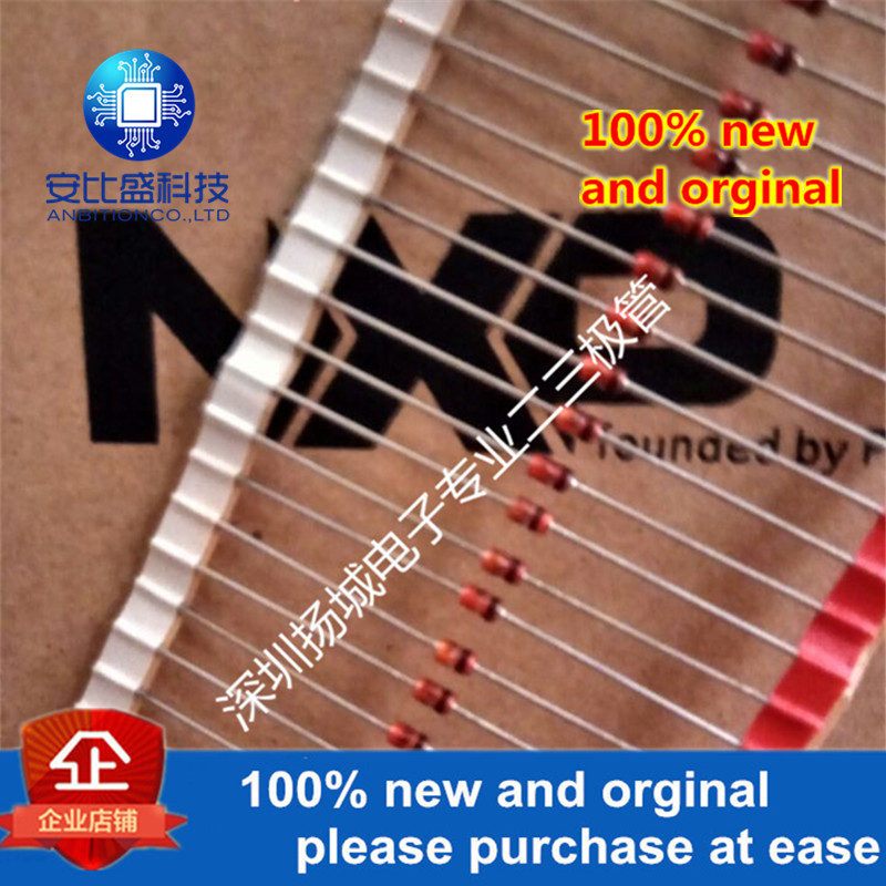 50pcs Original NEW 15V BZV85C15 BZV85-C15 BZV85C16 BZV85-C16 16V BZV85-C18 BZV85C18 18V 1.3W DO41 SOD66 DO-41 BZV85
