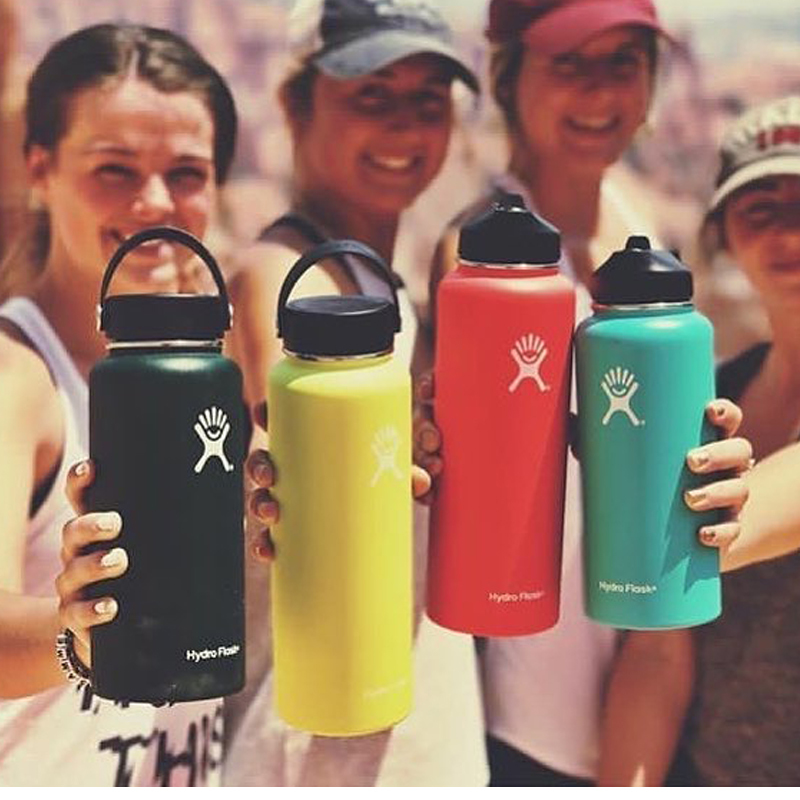 H579f3db0a91c44c5a1d95bc813e69084z hydro flask 18oz/32oz/40oz Tumbler Flask Vacuum Insulated Flask Stainless Steel Water Bottle Wide Mouth Outdoors Sports Bottle