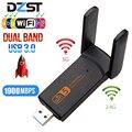 DZLST Wifi Adapter 1900M 2,4G 5G Dual Band Wifi USB 3,0 Gebühr Fahrer LAN Ethernet 1200M netzwerk Karte wireless Wifi Dongle Antenne
