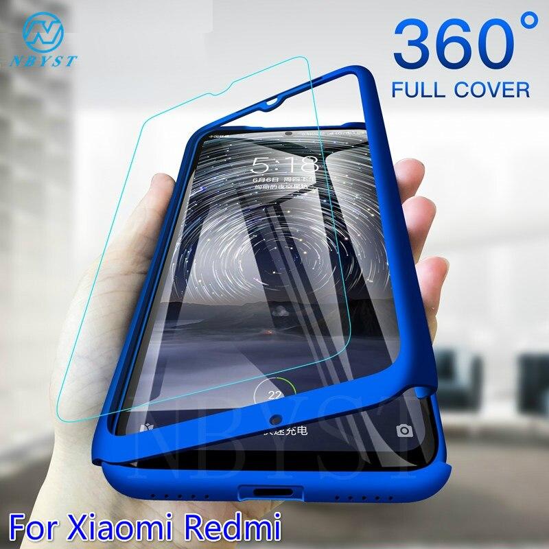 360 Full Body Phone Case For Xiaomi Redmi 8A 8 Pro 8T 7A 6A 5A 4A 4X 3S GO S2 5A Protector Cover On Redmi Note 9S 9Pro Max Funda