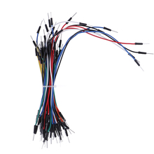 Jump-Wire-Cable Breadboard Male-To-Male Flexible DIY 65pcs/Lot Starter-Kit Wholesale