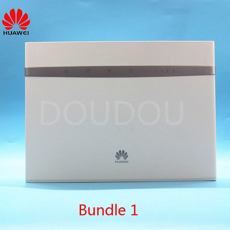 Entsperrt Huawei B525 B525s-65A 4G 300Mbps LTE CPE Wifi Router mit SIM Karte Slot 4G Wireless Router mit Antenne PK E5186 B315