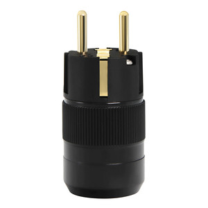 Image 3 - 1pair High End 24K Gold Plated  Schuko AC power connector+IEC power connector