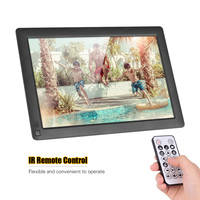 Andoer 10.1 Inch Ultra thin IPS LCD Digital Photo Frame Desktop Album 1280 * 800 with 8GB Memory Card Remote Control