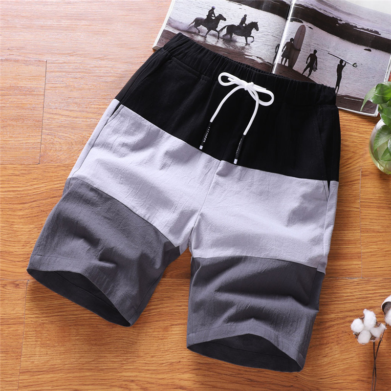 2020 Mens 3 In 1 Fitness Running Shorts Men Sports Mens Summer Fashion Leisure Loose Belt Drawstring Beach Sports Men Shorts