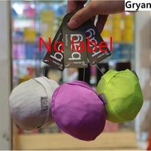 New Round ball Elastic Cotton shopping bag foldable tote Reusable Portable Shoulder Folding pouch handbags printing