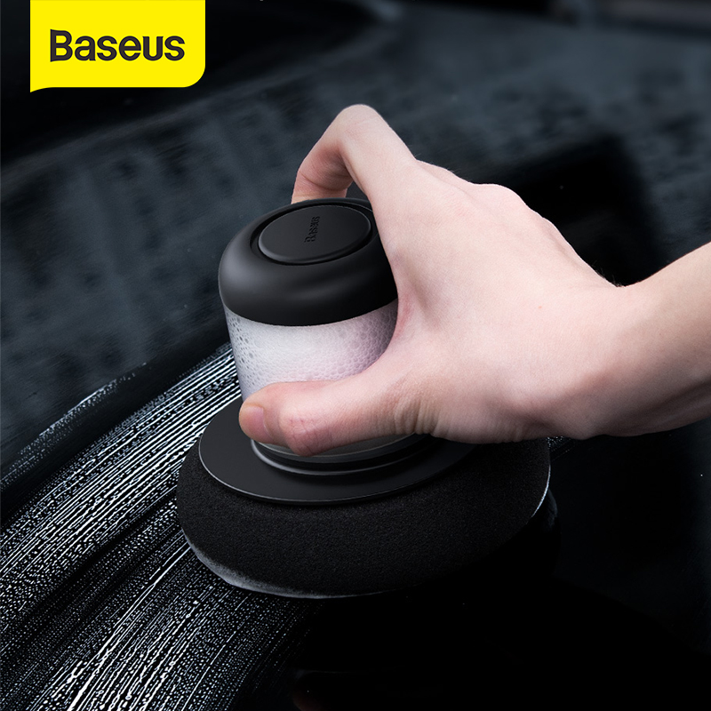 Baseus Car Polisher Auto Car Polishing Machine Sander For Car Brightening Scratch Repair Manual Car Polisher & 100ml Car Waxing