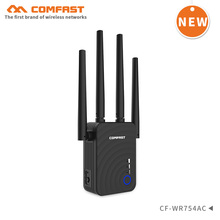 Comfast AC1200 WIFI Repeater/Router/Access Point Wireless 5G 1200Mbps Range Extender Wi-Fi Signal Amplifier 4 External Antennas wavlink gigabit wifi range extender wireless repeater 2 4g 5g dual band 1200mbps wi fi router repeater access point antennas new