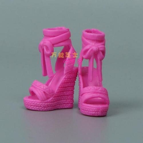 1/6 Doll Accessories Fashion Sneaker Flat Shoes Genuine Sandals Shoeshigh-heeled shoes for Barbie Doll Shoes 7