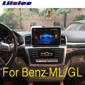 For Mercedes Benz MB GL ML W166 X166 2012~2015 Liislee Car Multimedia Player NAVI Wireless CarPlay Car Radio GPS Navigation image