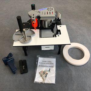 Image 3 - Manual Edge Banding Machine Double Side Gluing Portable Edge Bander Woodworking Edge Banding Machine 220V 1200Wдеревообрабатываю