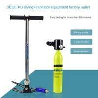 DEDEPU Diving equipment Scuba diving respirator portable snorkeling water sports equipment snorkeling spare oxygen tank