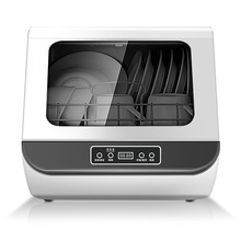 Dish-Dryer Dishwashing-Machine Desktop Fully-Automatic Electronic Small Household Heat-Disinfection