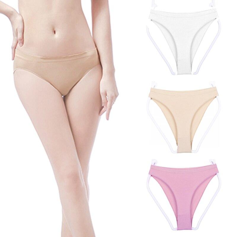Lady Ballet Dance Underwears Briefs High Cut Seamless Gymnastics Panty Cosy Soft