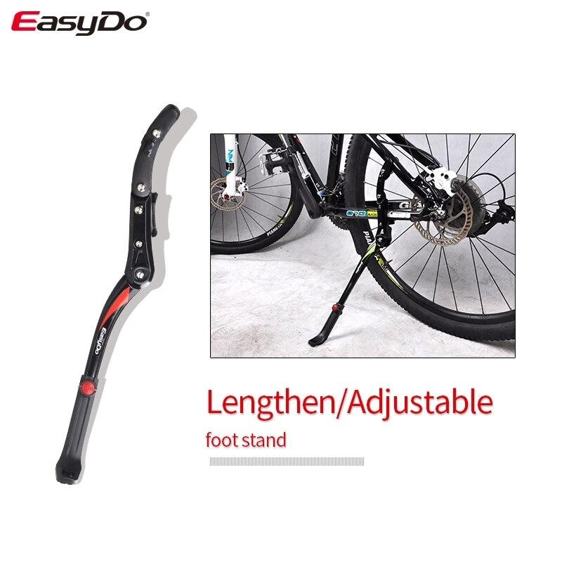 EasyDo Bike Accessories 24'-29'' Chain Stay No Need Tool Bike Kickstand Mountain Bike Bicycle Parking Rack Bicycle Bike Stand