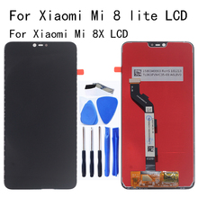 Original LCD For Xiaomi Mi 8 Lite LCD Display touch screen digitizer replacement for Mi 8X mi 8 Lite Glass panel Repair kit