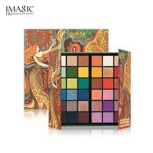 Imagic tarot cartão santo graal 36 cores paleta de sombra pérola fosco polarizado maquiagem paleta de sombra