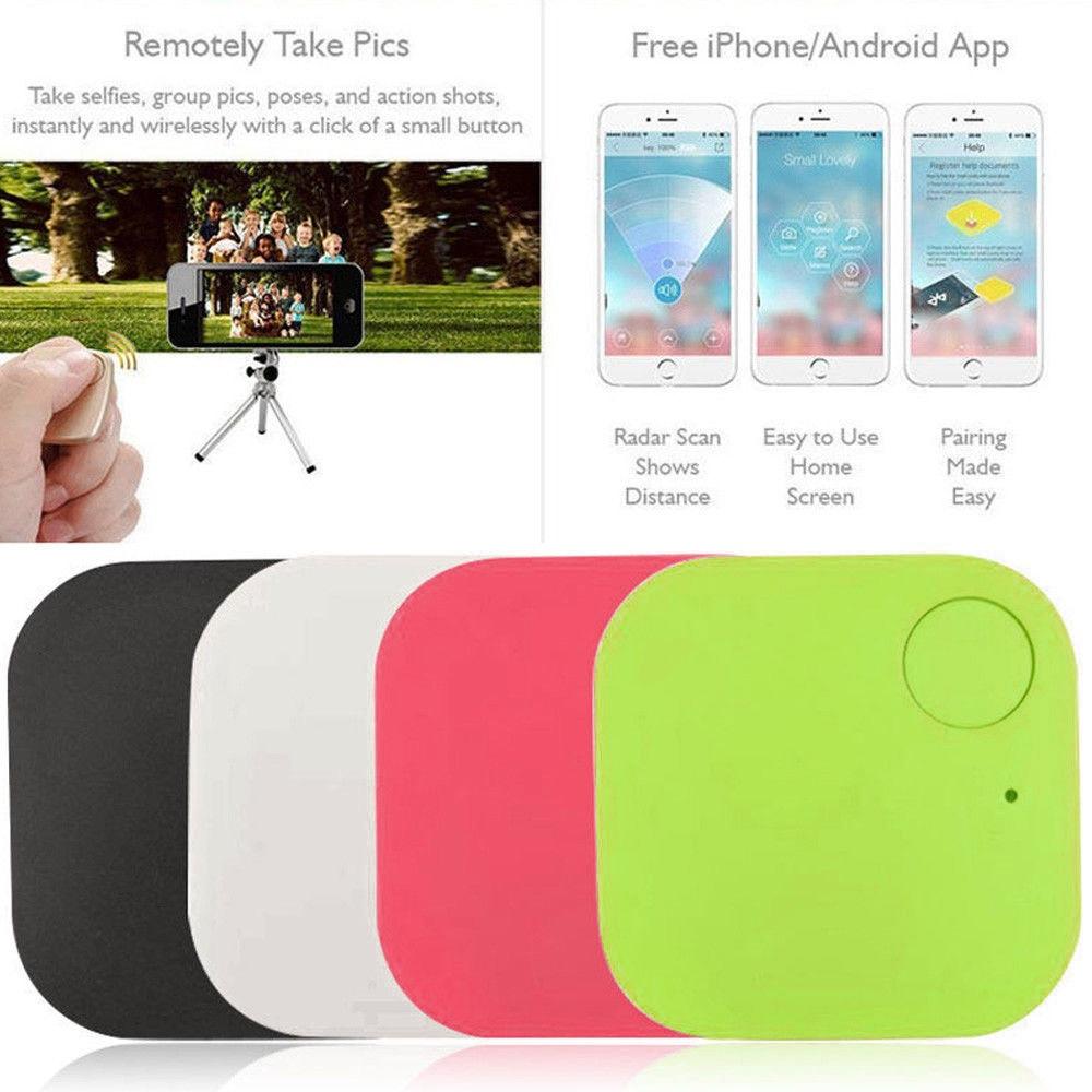 Portable Mini Anti-Lost Smart Bluetooth Remote Theft Device Alarm GPS Tracker Camera Locator Car Motor Tracking Finder For Kids
