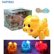 Hot Sale cute Interactive Toy Cartoon Pig Electronic Toys Electric Virtual Pets