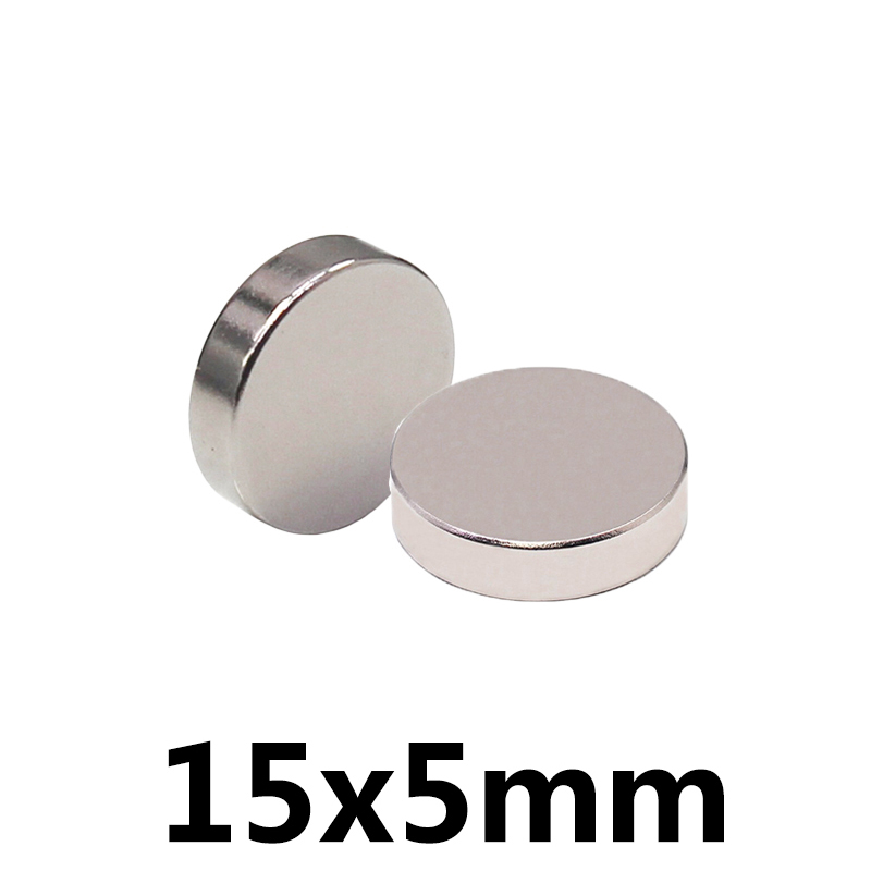 *20/50/100pcs Strong Magnetic 15x5 Mm N35 Super Strong Small Round Rare Earth Neodymium Magnets15*5mm Fridge Sticker Magnet