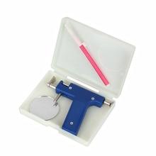 1 Набор, профессиональные безболезненные инструменты для пирсинга, ржавчины, носа, пуповины, отверстия для ушей, пирсинг, пистолет, инструмент, безболезненная безопасность