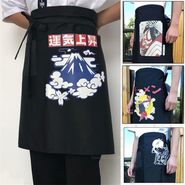 12Style Japanese Asian Chef Uniform Sushi Restaurant Hotel Crane Cook Apron Kitchen Work Wear Clothing for Men Women