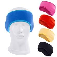 Headband Warm Polar-Fleece Girls Winter Women Ear Wool Moisture-Wicking