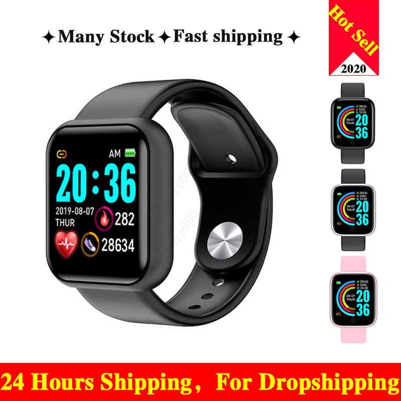 Smart Watch For Men Women Smartwatch For Android IOS Blood Pressure Heart Rate Waterproof Heart Rate Monitor PK B57 B58 Reloj(China)