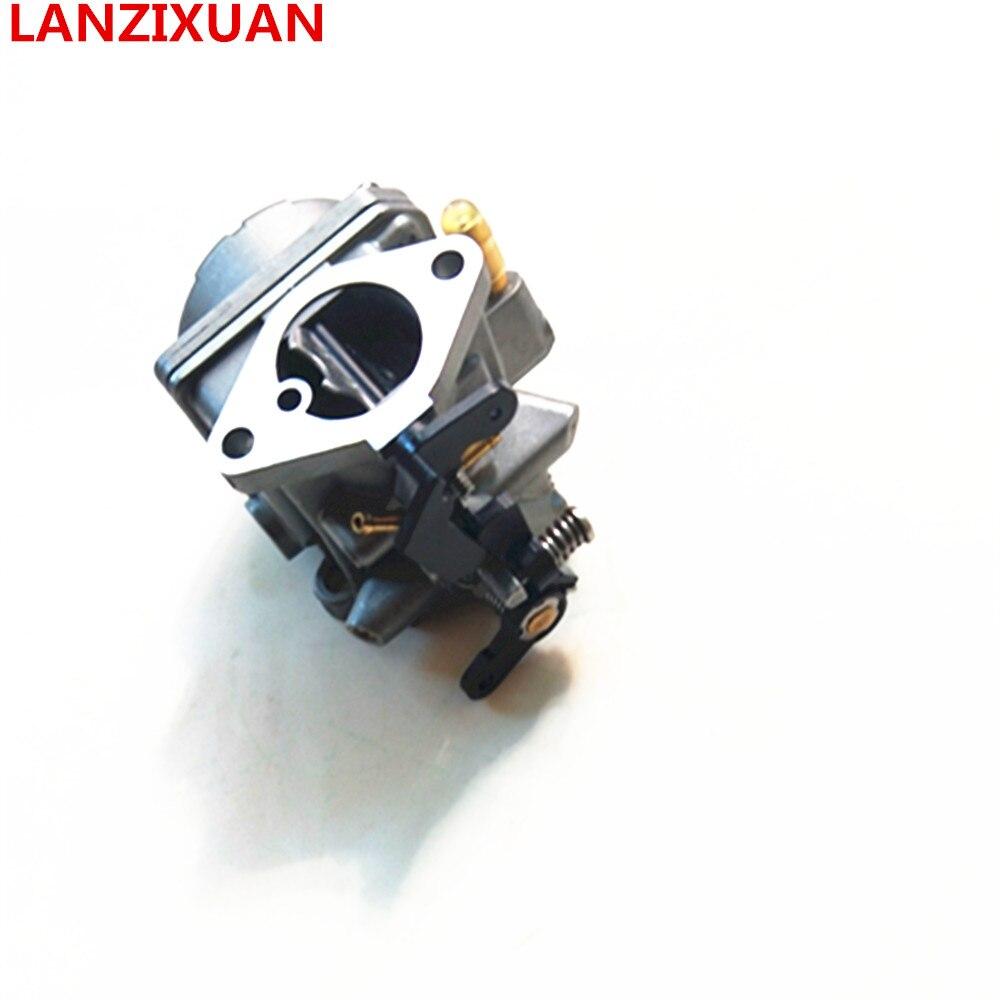 Moteur hors-bord de Hangkai 4 temps 6.5 HP, moteur marin de moteur de bateau partie le moteur hors-bord de bateau de carburateur