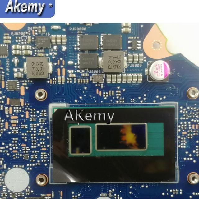 Akemy Top qualité pour ASUS PU451LD PU451 PU451L ordinateur portable carte mère i7-4510U mémoire vidéo PU451LD carte mère REV2.0 100% testé