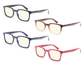Okulary blokujące niebieskie światło komputerów mężczyźni okulary komputerowe okulary do gier damskie okulary blokujące niebieskie światło okulary do czytania szkodliwe światło blokujące okulary tanie i dobre opinie ModFans WOMEN Unisex Jasne NONE CN (pochodzenie) Anti-odblaskowe MSR032 38cm Z poliwęglanu 4 8cm Z tworzywa sztucznego
