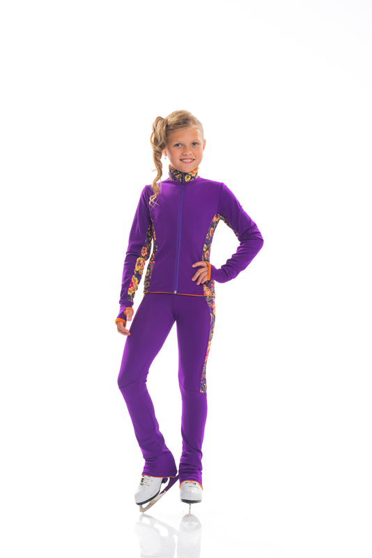 CHILDREN 'S SWEAT THERMAL SUIT FOR FIGURE SKATING FOR BOY AND GIRL,