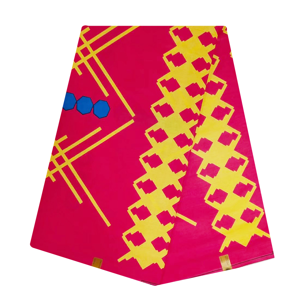 Tulle African Wax Fabric Dutch Wax Prints Cotton Fabric Ankara Ghana Guaranteed Veritable Wax Pange Batik 6 Yards Wholesale