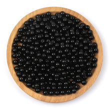 4/6/8/10/12/14/16/18/20mm Black Imitation Pearl Beads For Clothes Jewelry Making Crafts Diy Grament Sewing Decoration