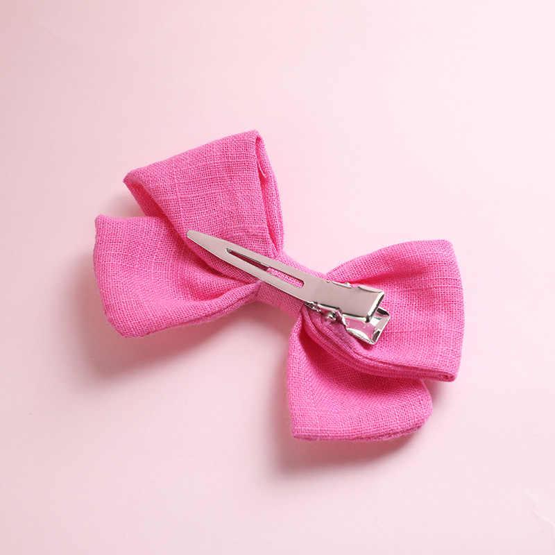 Cinta para el pelo de lino y algodón, diadema de nailon o lazo, diademas de lazo marinero para fiestas de cumpleaños, regalos accesorios para el pelo