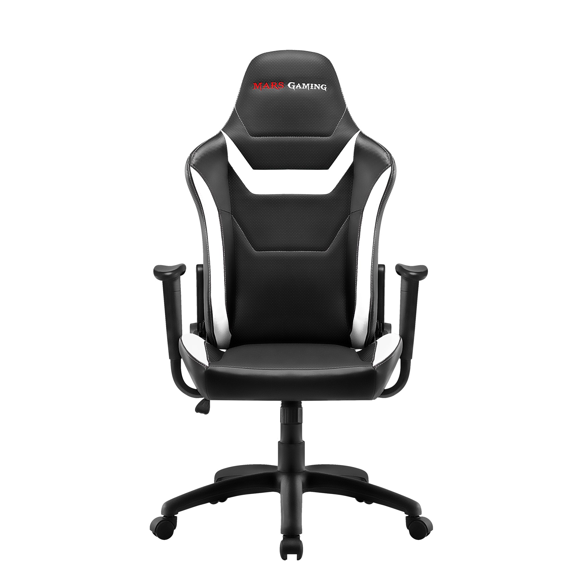 Mars Gaming MGC218, Chair Gaming Proffesional, Technology AIR, Recliner 180 °, White