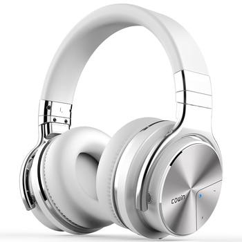 Cowin E7-pro[Upgraded] Active Noise Canceling Bluetooth Headphones Over Ear Deep Bass Wireless Headset HiFi Sound Hands free mixcder e7 wireless headphone hifi active noise cancelling bluetooth v5 0 headphone anc over ear headset for phone