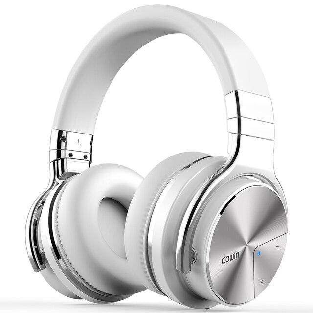共同受賞E7 pro [アップグレード] アクティブノイズキャンセルbluetoothヘッドセット耳重低音ワイヤレスヘッドセットハイファイサウンドハンズフリー