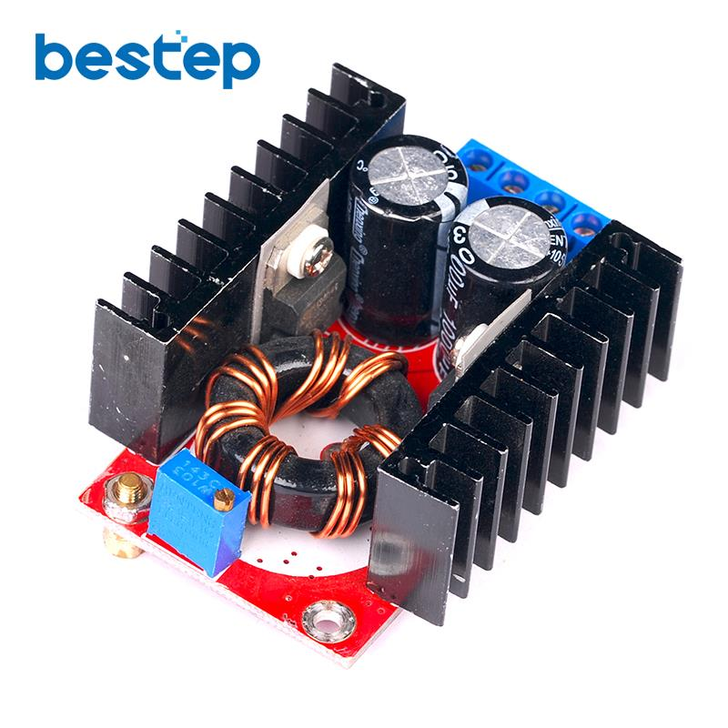 150W Boost-wandler DC zu DC 10-32V zu 12-35V Step Up Voltage Ladegerät modul