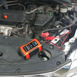 Image 3 - Intelligent Battery Charger 12V 5A Pulse Repair Truck Storage With LCD Display